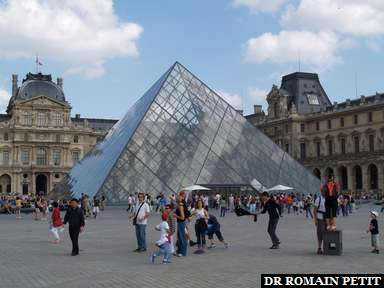 Album photos Louvre par Romain Petit