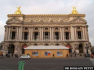 Album photos Opéra Garnier par Romain Petit