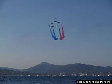 Album photos Patrouille de France à Saint-Tropez par Romain Petit
