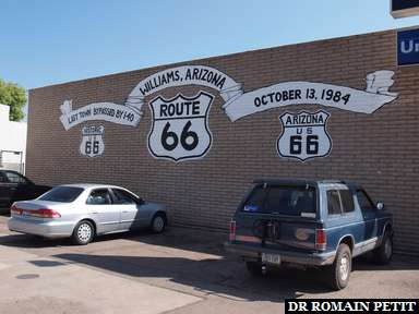 Album photos Williams (Route 66) par Romain Petit