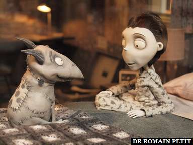 Album photos Frankenweenie - Les coulisses du film par Romain Petit
